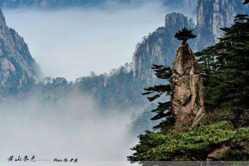 最好也严密关注黄山景区的天气状况,因为云海和雾凇的出现概率与天气