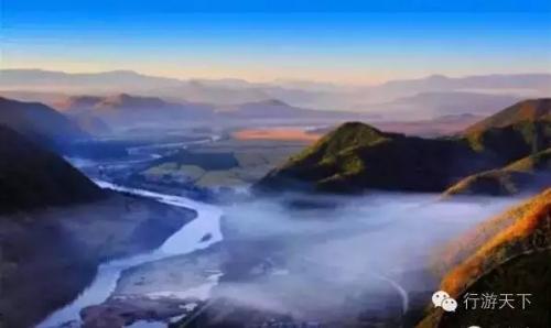 """""""中国最美秋天""""高铁线醉人风景"""